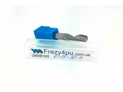 Купить Фреза по алюминию 6*17*50*1т ЧПУ  цена, фото, фотография, изображение, картинка