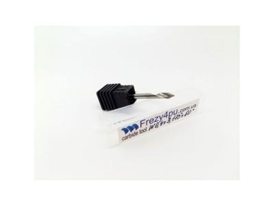 Купить Гравер W0.4 D3.175 60° спиральный однозах  цена, фото, фотография, изображение, картинка