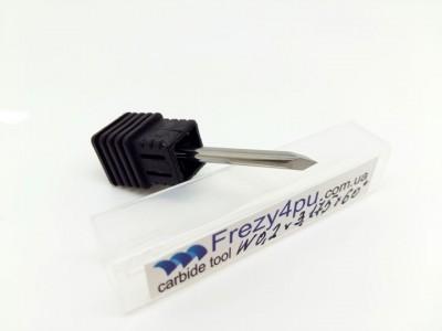 Купить ГРАВЕР типа ПИРАМИДКА W0.2 D3.175 60°  цена, фото, фотография, изображение, картинка