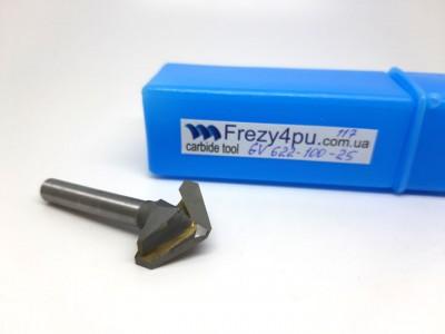 Купить Фреза фасонная GV 622-100-25  цена, фото, фотография, изображение, картинка