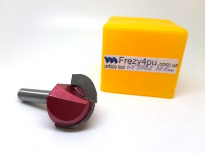 Купить ФРЕЗА ФАСОННАЯ СФЕРИЧЕСКАЯ GY0502-30 8 мм  цена, фото, фотография, изображение, картинка